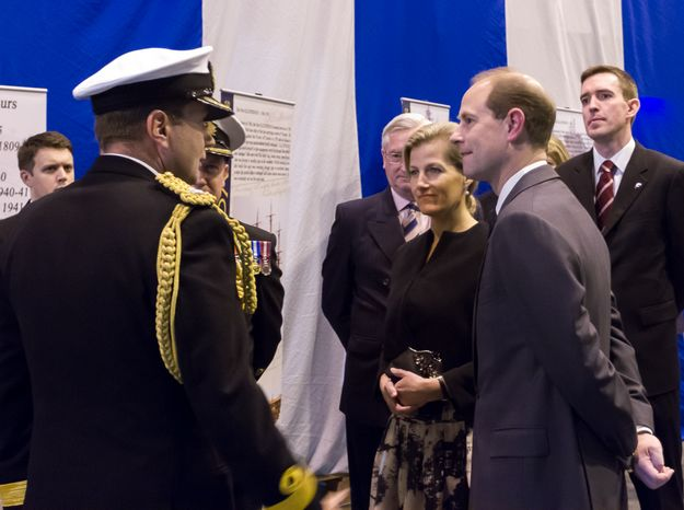 Countess of Wessex presents two ambulances in Malta