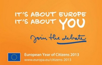 2013 has been officially named 'European Year of Citizens'