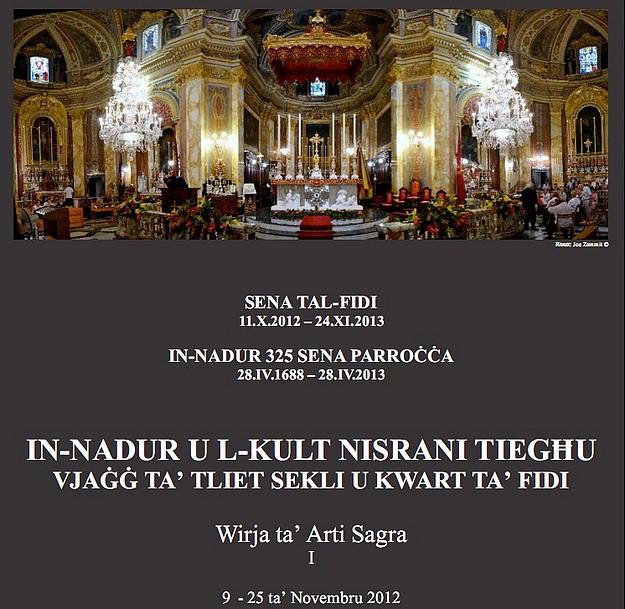 Sacred Art Exhibition - 'In-Nadur u l-Kult Nisrani Tieghu'