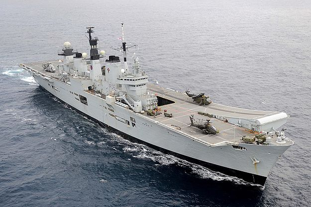 Royal Navy Task Group in the Grand Harbour next week