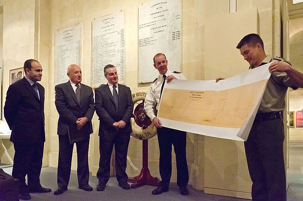 HMS Illustrious (1940) documents donated to Heritage Malta