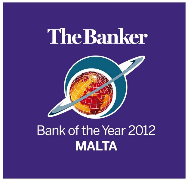 HSBC Malta wins 'The Banker Awards 2012' for second year