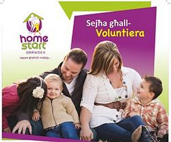 Dar Guzeppa Debono needs volunteers for Home-Start Gozo