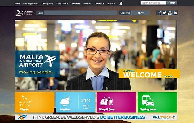 Malta International Airport launches new interactive website