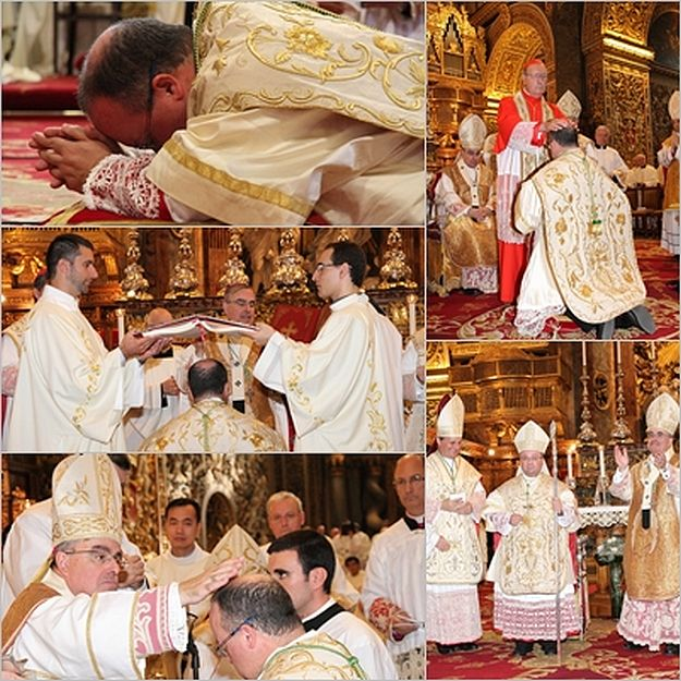 Mons. Charles J. Scicluna ordained as Auxiliary Bishop