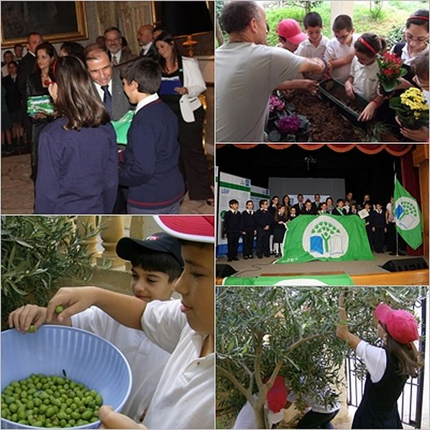 Nadur Primary School receives second Green Flag Award