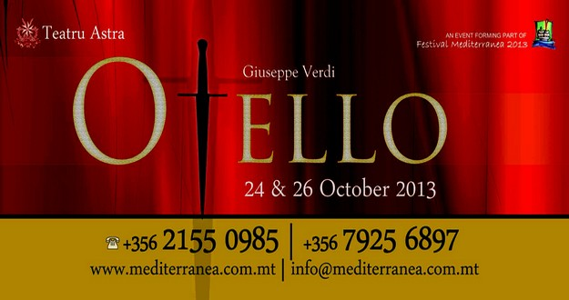 'Otello' opens theatre season 2013 at Teatru Astra in Gozo