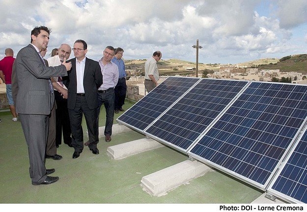 PV system inaugurated at the Don Bosco Oratory of Gozo