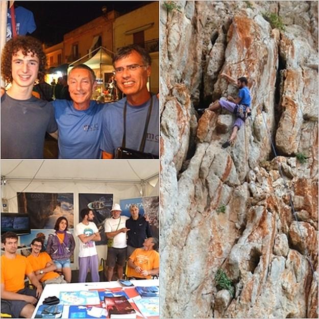 Malta Climbing Club attend the San Vito Climbing Festival