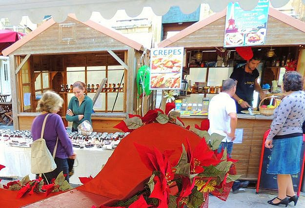 Artisan Christmas Village opens this weekend in St George's Square, Victoria