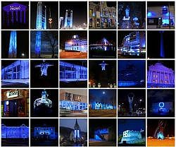 Citadel and Cathedral will be in blue for World Diabetes Day