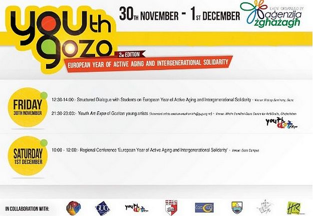 Second edition of 'Youth Gozo' gets underway tomorrow