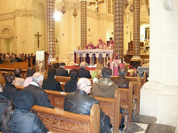 Arka Foundation special Mass held at Ta' Pinu Sanctuary