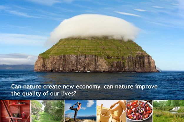Presentation on whether nature can improve quality of life