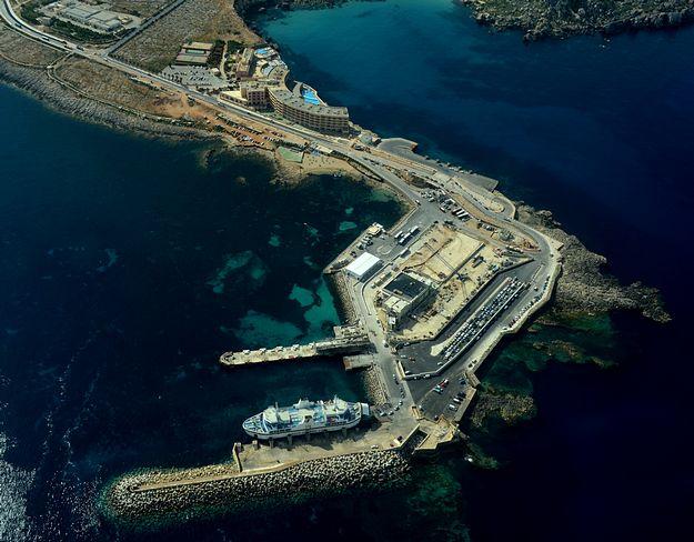 New traffic arrangements at Cirkewwa ferry terminal