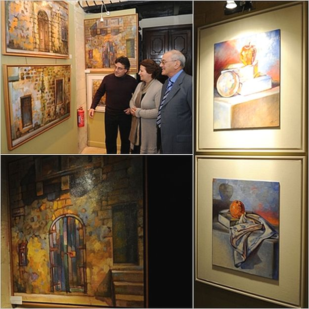 George Scicluna exhibition inaugurated at Banca Giuratale