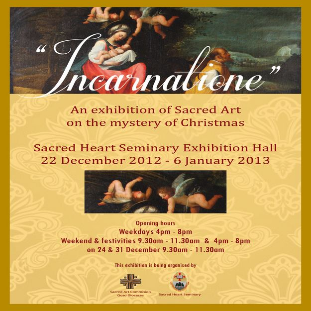 'Incarnatione' Sacred Art Exhibition being held in Victoria