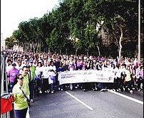 Record turn out for today's Istrina 2012 charity fun run