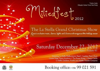 'Miliedfest' -  The La Stella Annual Grand Christmas Show