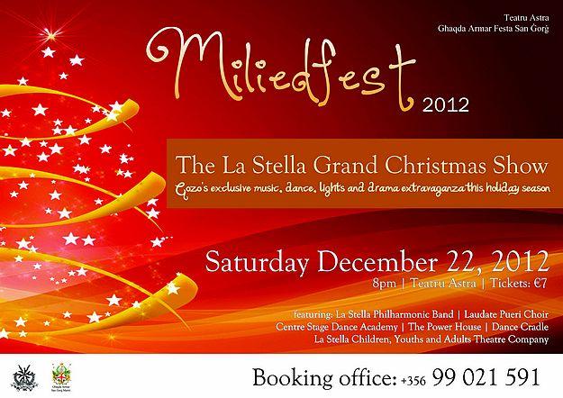 'Miliedfest' -  The La Stella Annual Grand Christmas Show