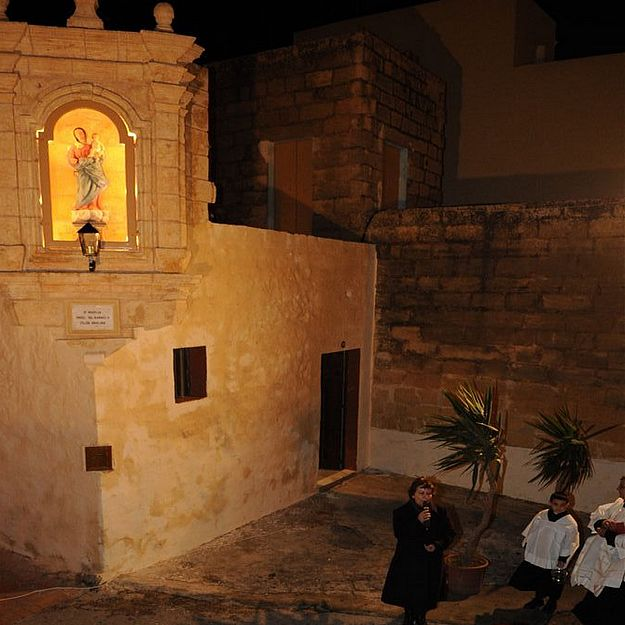 Niche of Our Lady of Mount Carmel inaugurated in Nadur