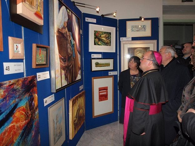 Art Exhibtion inaugurated in aid of Id-Dar tal-Providenza