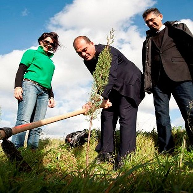 Bank of Valletta has planted 110 trees at Majjistral Park