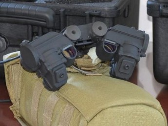 US Government donates Night Vision Goggles to the AFM
