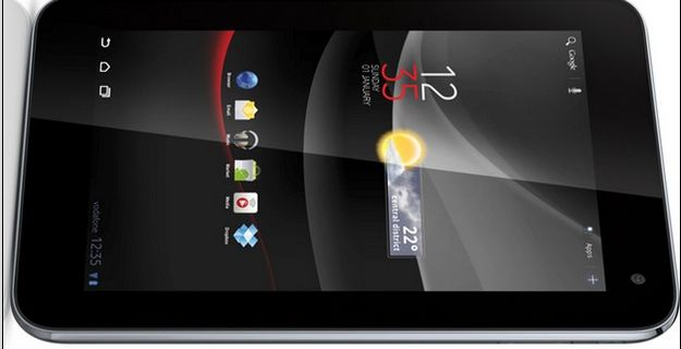 Vodafone announces the launch of its 3G Android tablet