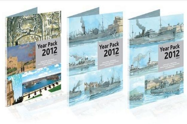 MaltaPost to issue the Year Pack containing all 2012 stamps