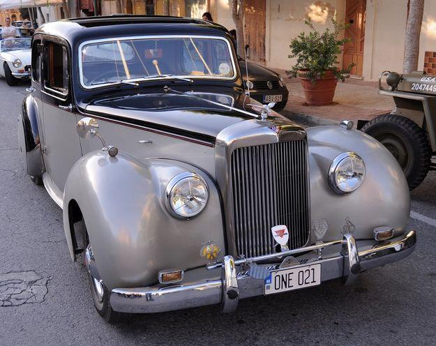 Rabat Malta to Rabat Gozo Vintage Motors Festival 2013
