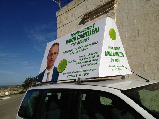 Campaign launch for Gozo's AD candidate David Camilleri
