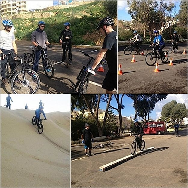 ERRC Bicycle Response Unit receives mountain bike training
