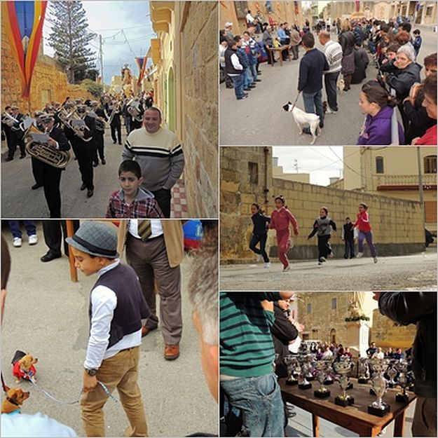 The Feast of Saint Anthony the Abbot celebrated in Xaghra