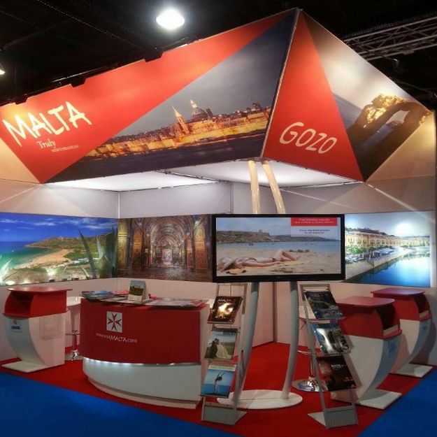 Gozo Tourism Association at Holiday World Dublin 2013