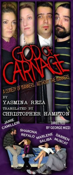 'God of Carnage' a play by the Gozo Creative Theatre Club
