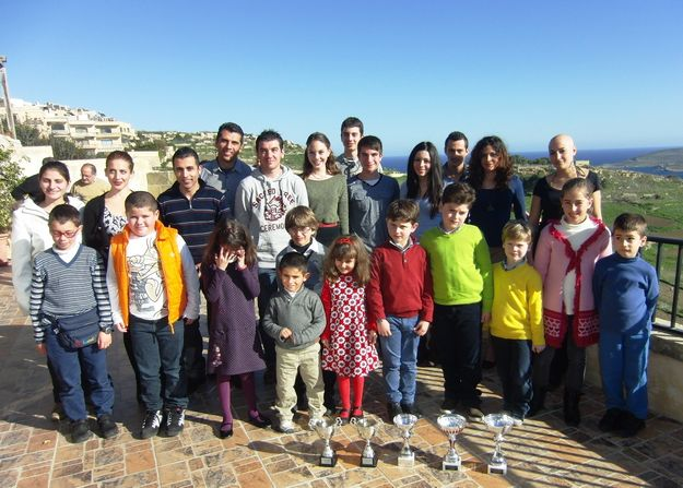 Malta athletics weekend training camp held in Gozo