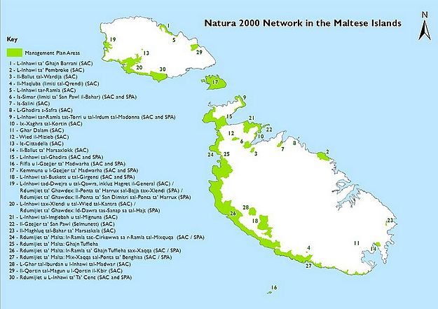 Management plans for 34 Natura 2000 sites being prepared