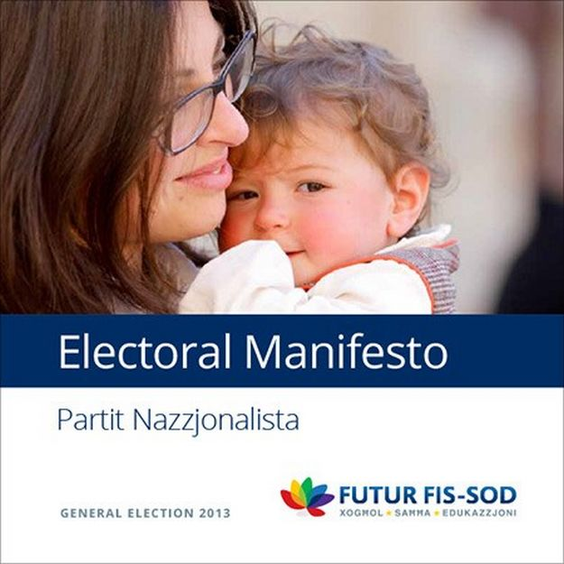 The Nationalist Party publishes its electoral manifesto