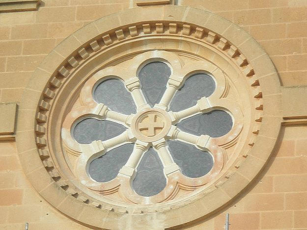 Restoration completed on Rose Window at Ta' Pinu Basilica