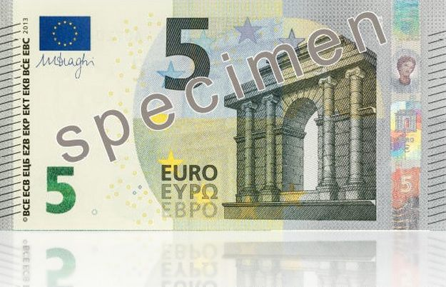 Eurosystem unveils the Europa series €5 banknote