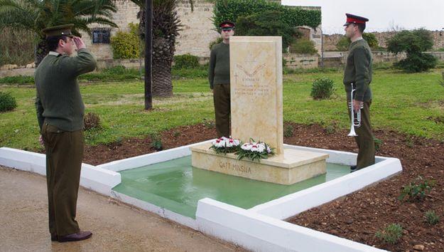 The AFM Regimental Memorial dedicated to the Fallen