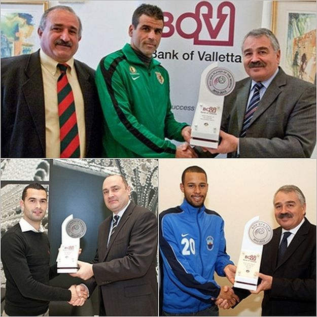 Three players awarded the BOV Gozo Player of the Month