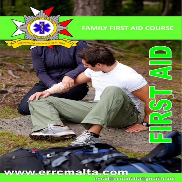 Gozo's E.R.R.C. Basic First Aid Course starts next week