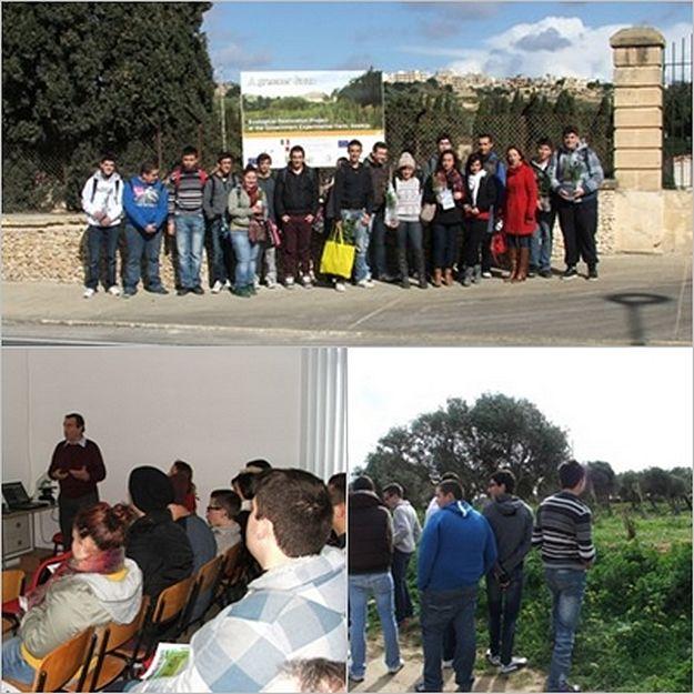 Gozitan Post-Secondary students visit CIRSEM in Xewkija
