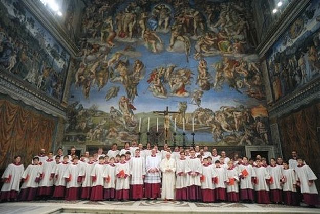 Papal Choir concert during Museum inauguration weekend