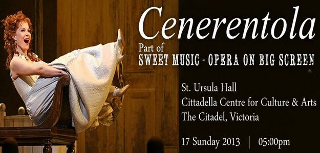 'Cenerentola' opera on big screen as part of 'Sweet Music'