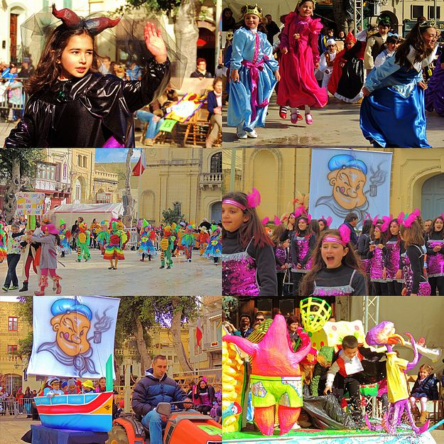 Everyone has fun at the Gozo Regional Carnival in Victoria