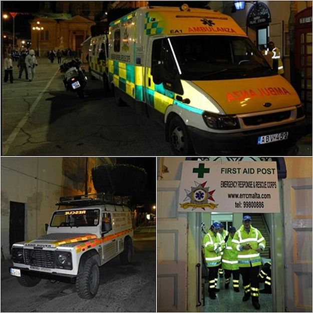 Gozo's ERRC provides emergency cover at Nadur Carnival