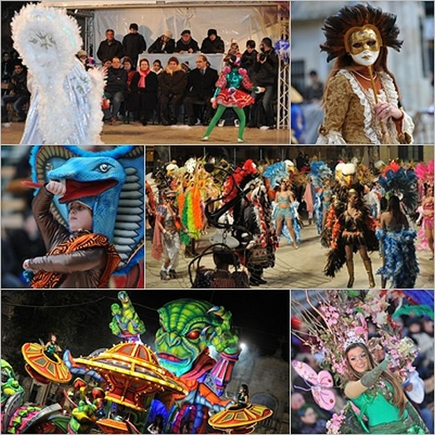 Cold weather fails to dampen the spirit of the Gozo Carnival
